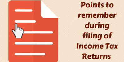 Income Tax Returns filing