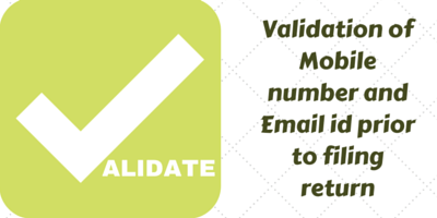 Validation of Mobile number and Email id