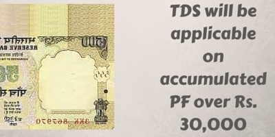 TDS on PF