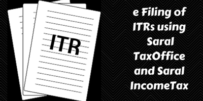 e filing of itr