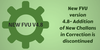 New FVU Version 4.8