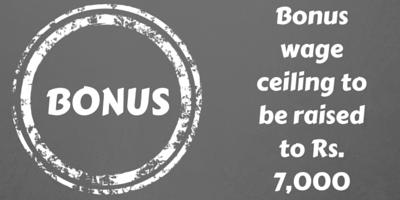 Bonus wage ceiling