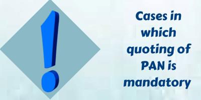 pan mandatory