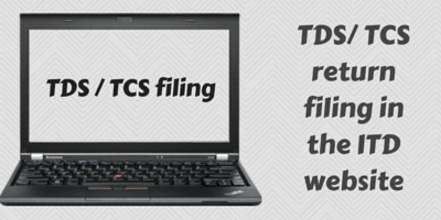 TCS - TDS return filing