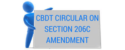 Section 206C of the Income-tax Act CBDT circular