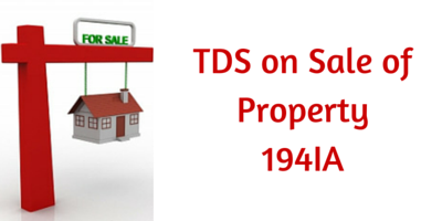 TDS on SALE OF PROPERTY