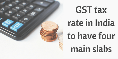 GST tax rate in India