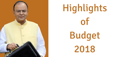 Budget highlights - 2018
