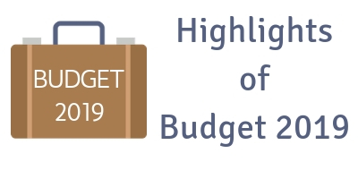 Budget Highlights - 2019